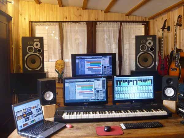 studio d 39 enregistrement et sonorisation prise live chailly en bi re. Black Bedroom Furniture Sets. Home Design Ideas